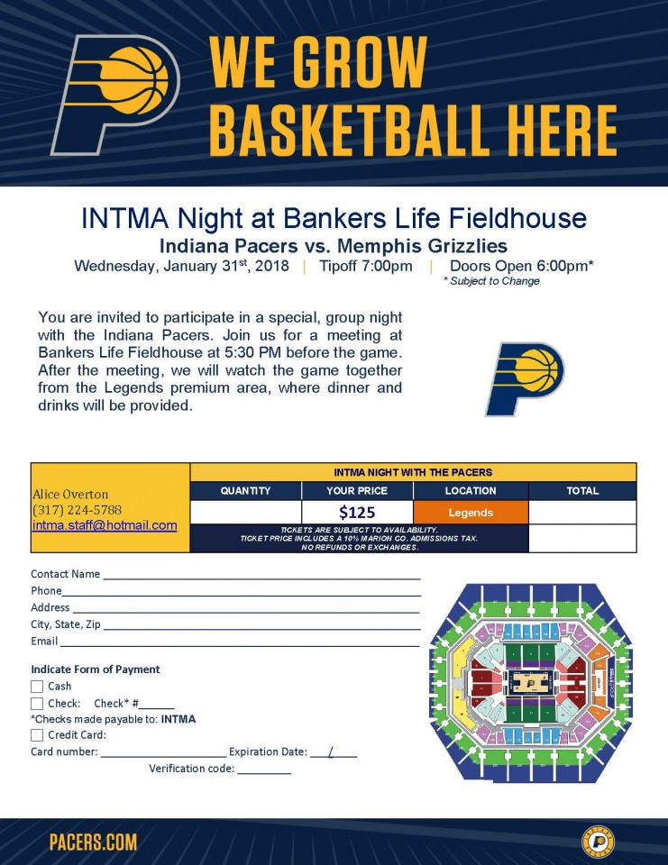 INTMA Pacers Game